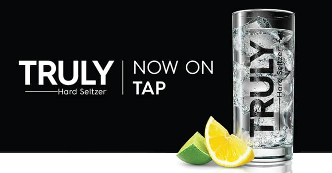The Buffalo Rose Now Serving Truly Seltzer on Tap